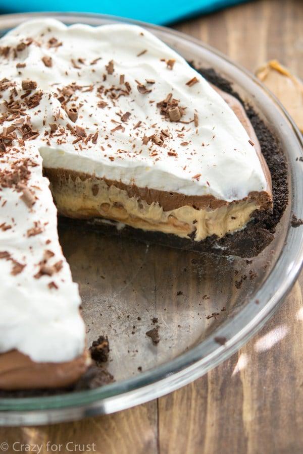 Peanut Butter Chocolate Cream Pie
