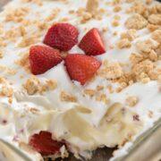 Easy No Bake Strawberry Shortcake Dessert Lush