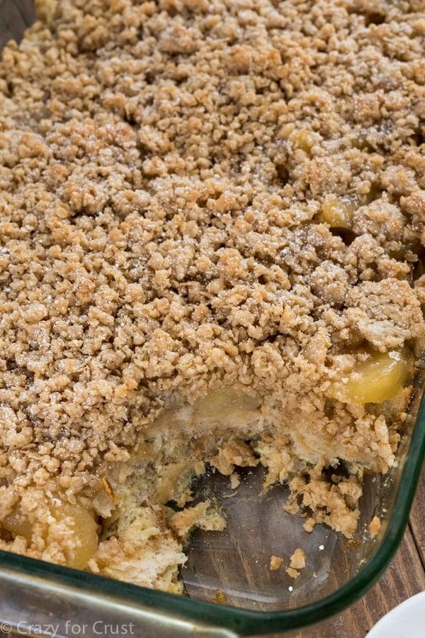 Overnight Apple Pie French Toast Casserole Recipe