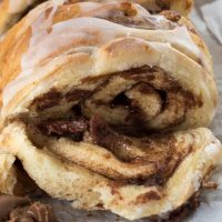 Chocolate Cinnamon Roll Pull Apart Bread