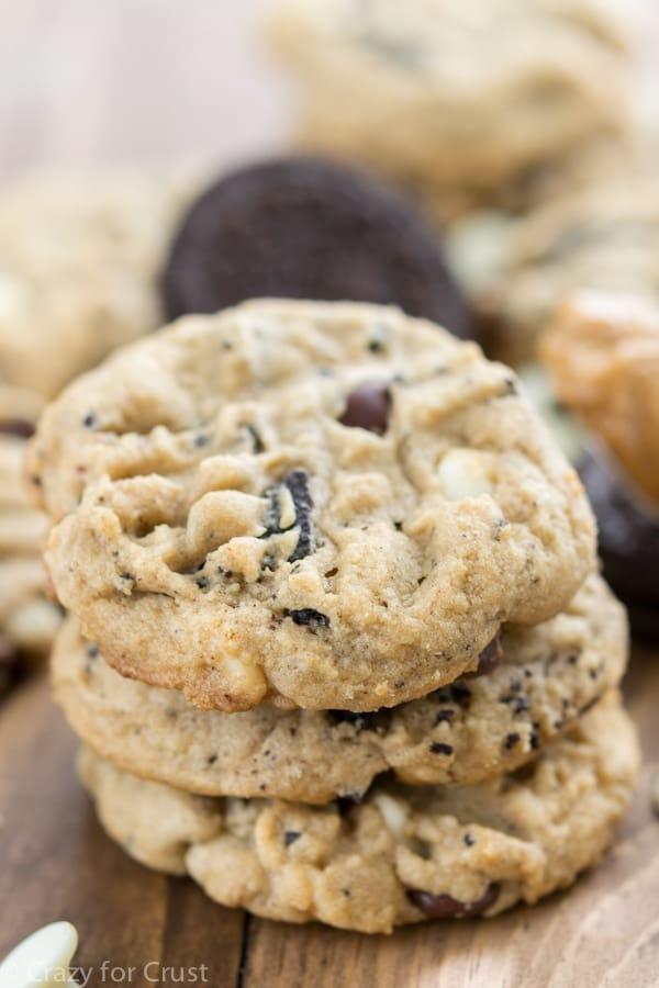 Cookies 'n Cream Peanut Butter Cookie Recipe