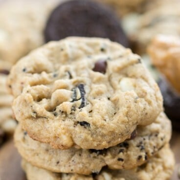 Cookies 'n Cream Peanut Butter Cookies