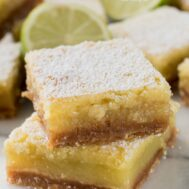 Margarita Bars in a stack