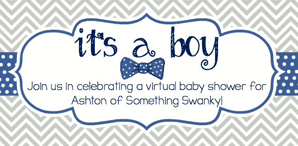 its a boy, baby shower graphic