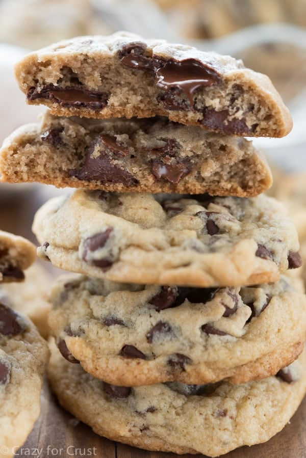 Ice Cream Chocolate Chip Cookies - an easy cookie recipe made with ice ...