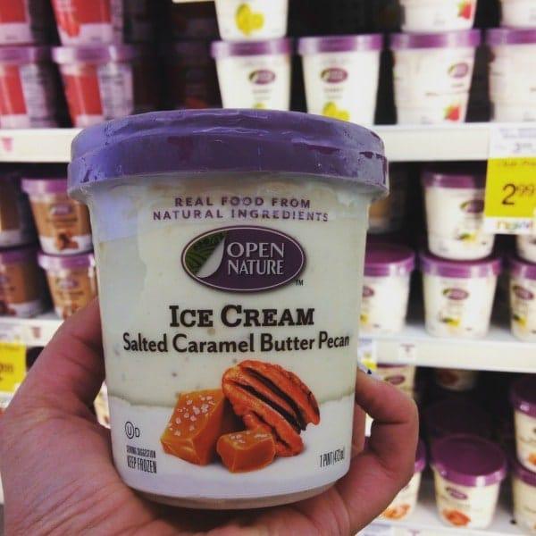 open nature ice cream