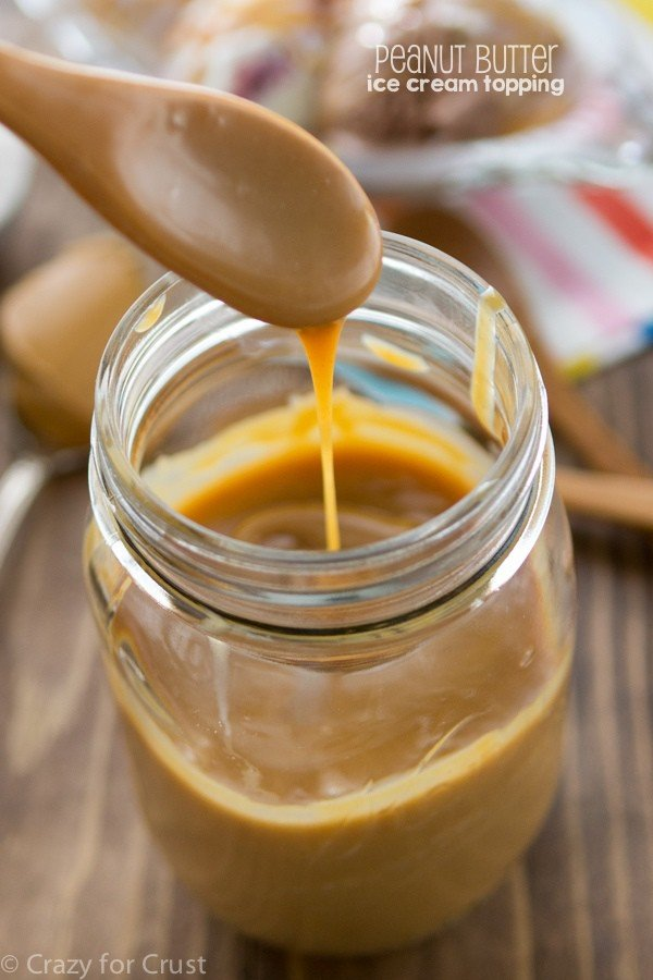 Peanut Butter Ice Cream Topping Recipe