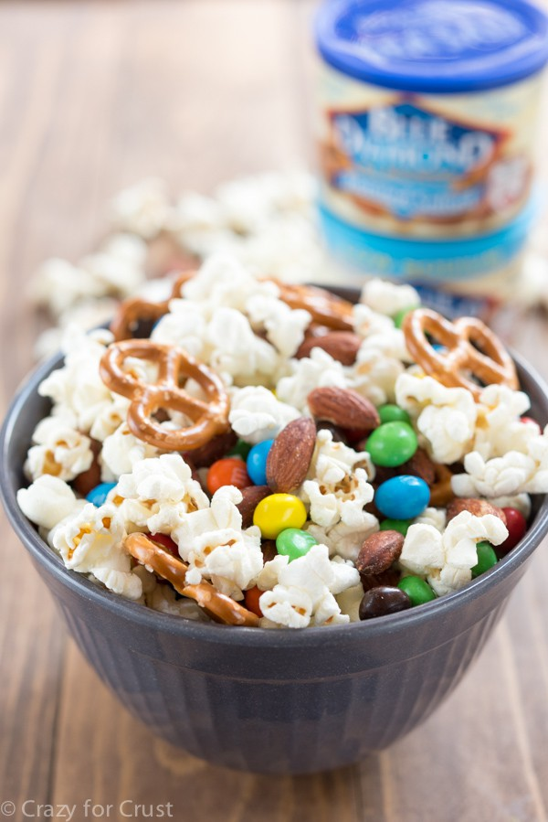 Homemade EASY Kettle Corn Snack Mix recipe