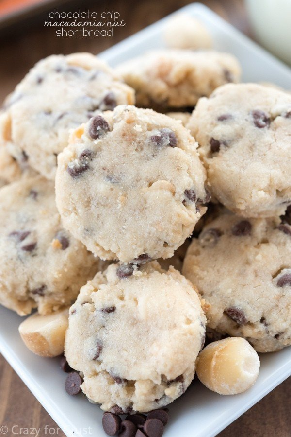 Shortbread cookies nuts recipes