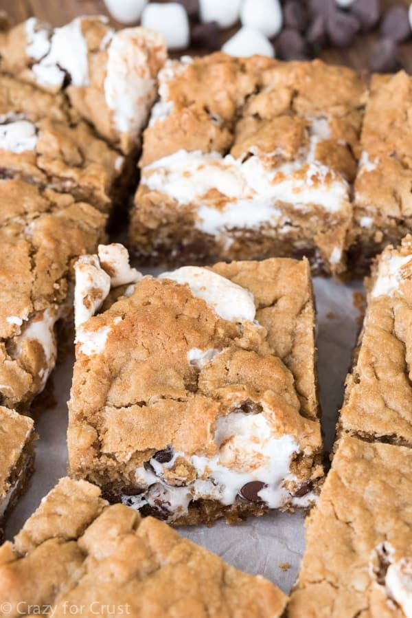 Easy Oatmeal Cookie S'mores Bars Recipe