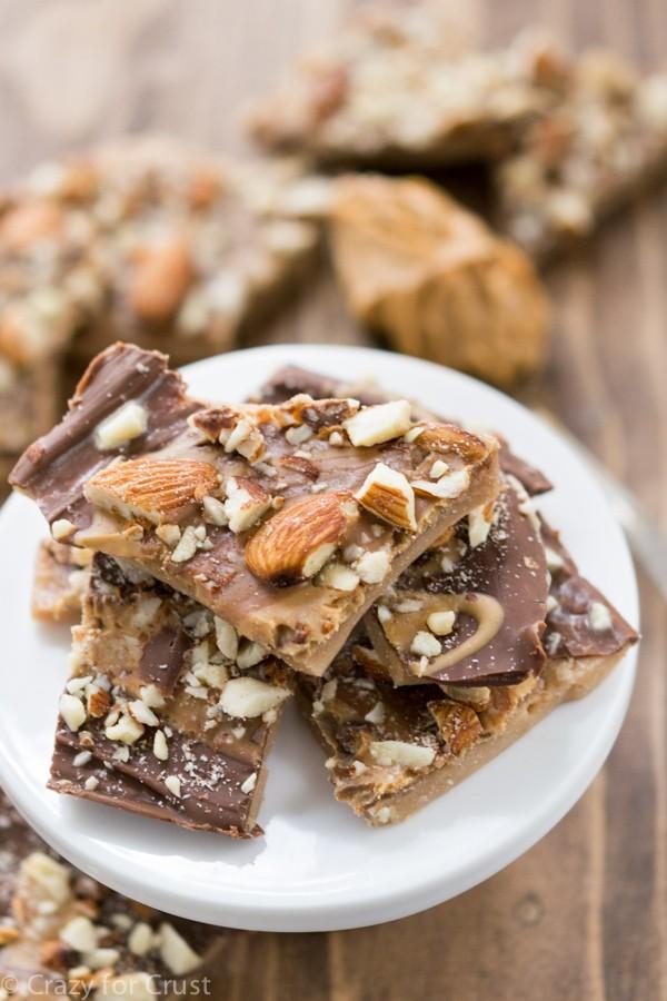 Peanut Butter Almond Roca Photo
