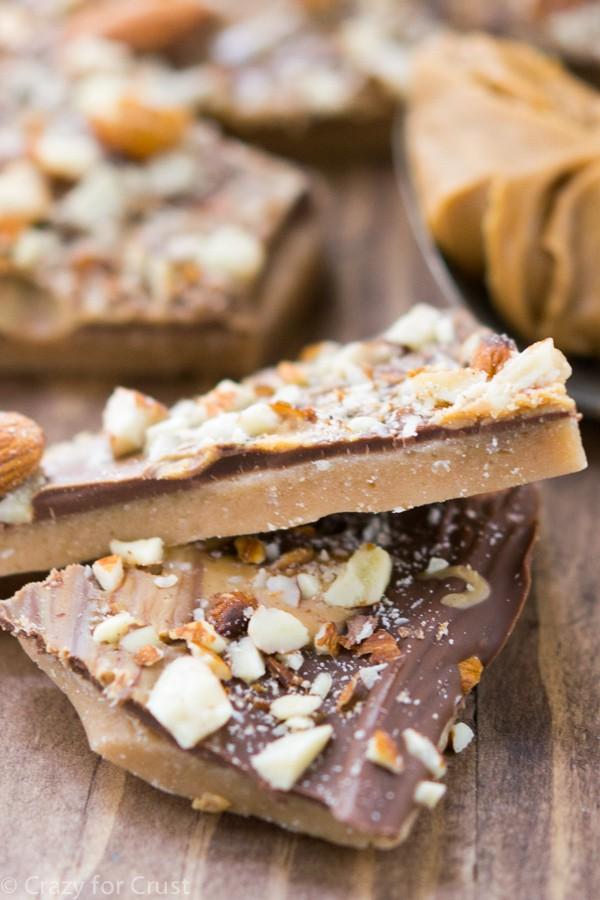 Peanut Butter Almond Roca Copycat Recipe