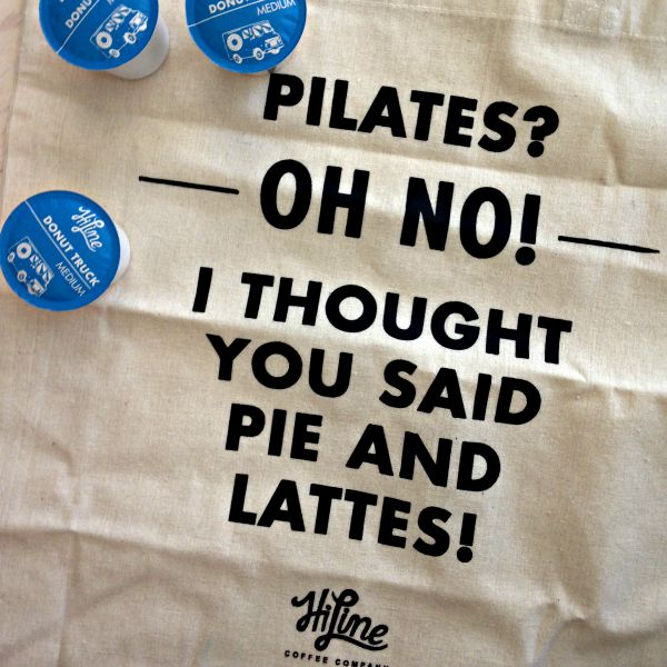 Pie and lattes