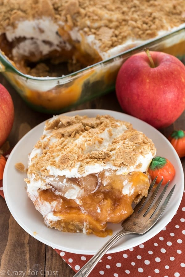 Pumpkin Apple No Bake Dessert Recipe