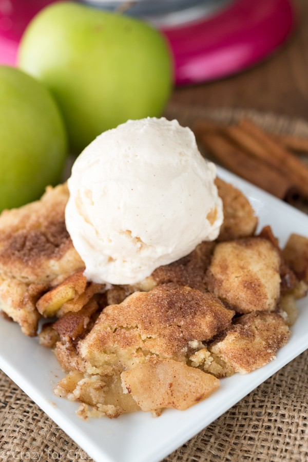 Snickderdoodle Apple Cobbler Recipe