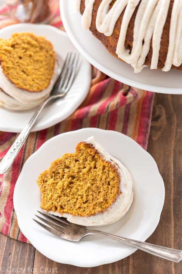 Easy Brown Butter Pumpkin Bundt Cake Recipe