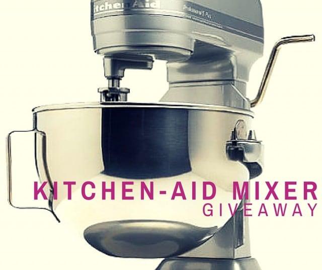 Win a Kitchen Aid Mixer!