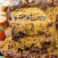 Peanut Butter Cup Pumpkin Bread (10 of 10)