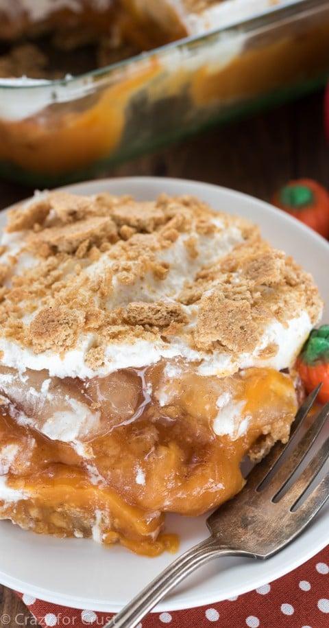 Pumpkin Apple No Bake Dessert (1 of 1)