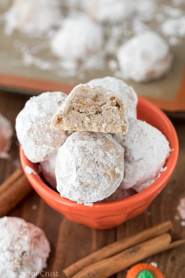 Pumpkin Spice Snowballs Recipe
