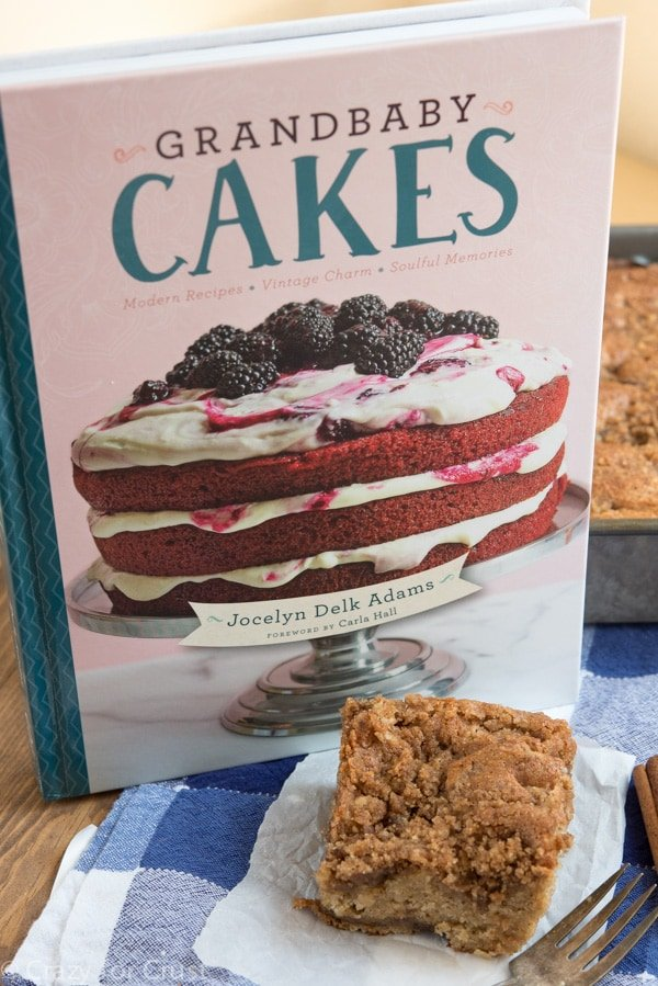 Sweet Potato Crumb Cake from the Grandbaby Cakes cookbook.