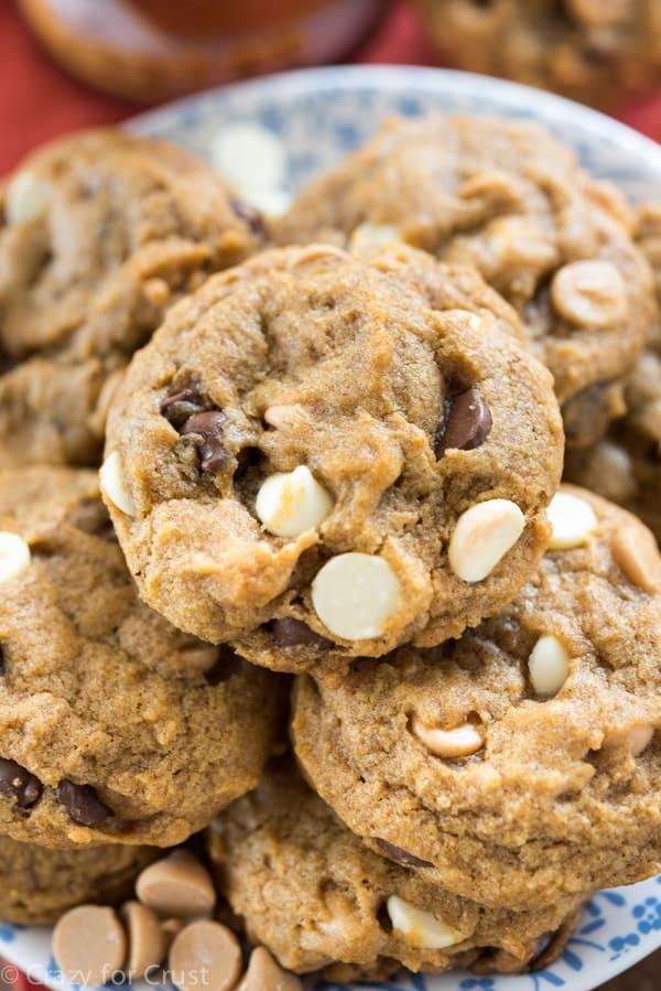 Triple Chip Pumpkin Cookies (3 of 6)