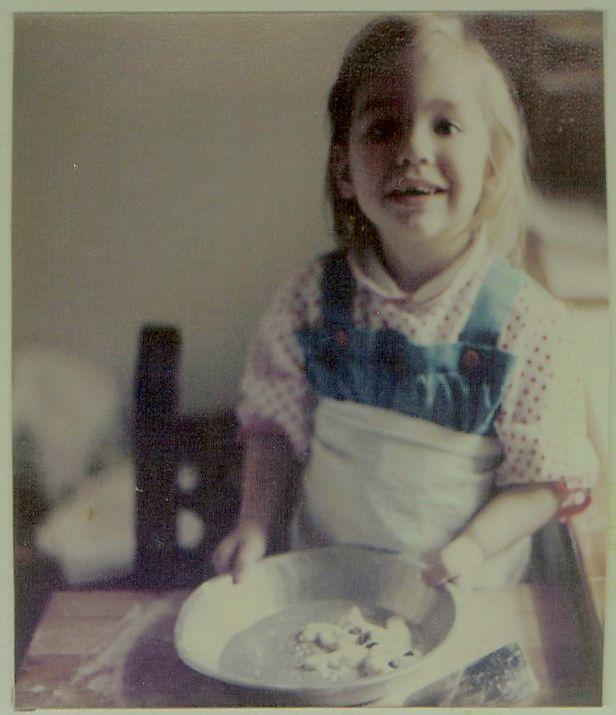 me baking