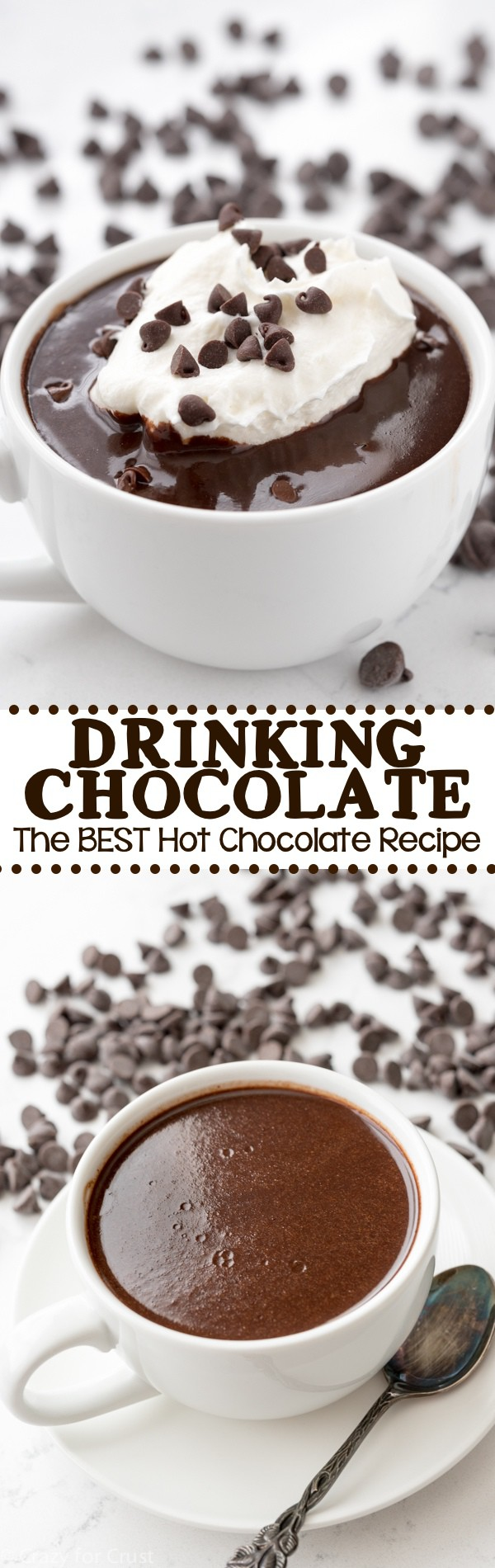 Drinking Chocolate - Crazy for Crust