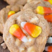 Easy Butterscotch Pudding Cookies up close