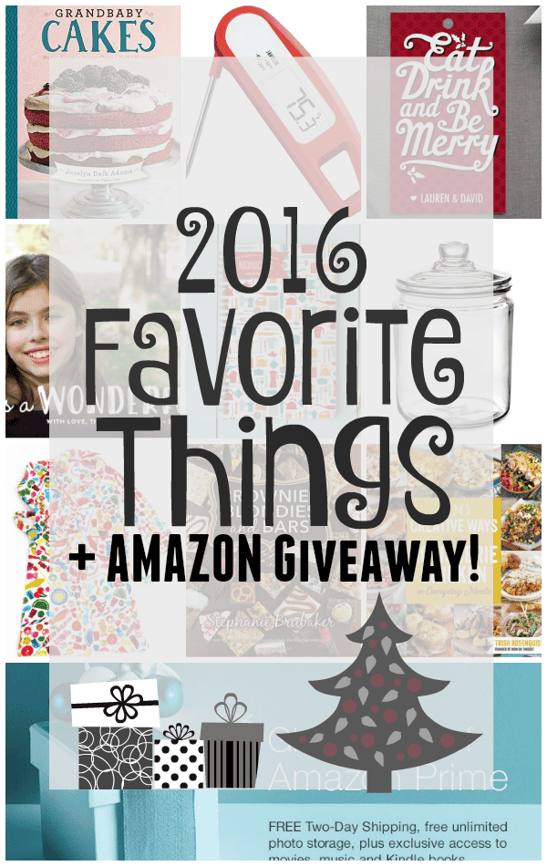 2015 Favorite Things + Giveaway