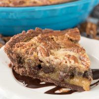 Double Chocolate Pecan Pie (4 of 7)w