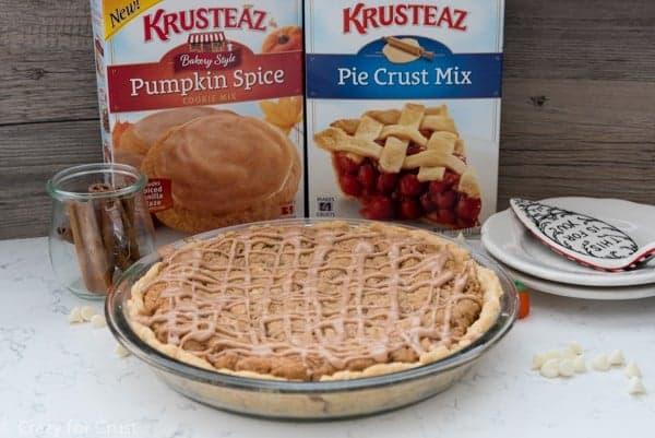 Pumpkin Cookie Pie