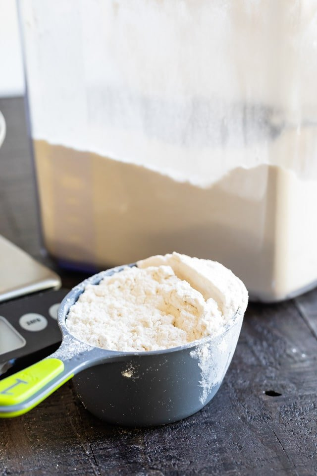 How To Measure Flour Crazy For Crust