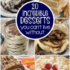 20 Incredible Desserts You Cant Live without