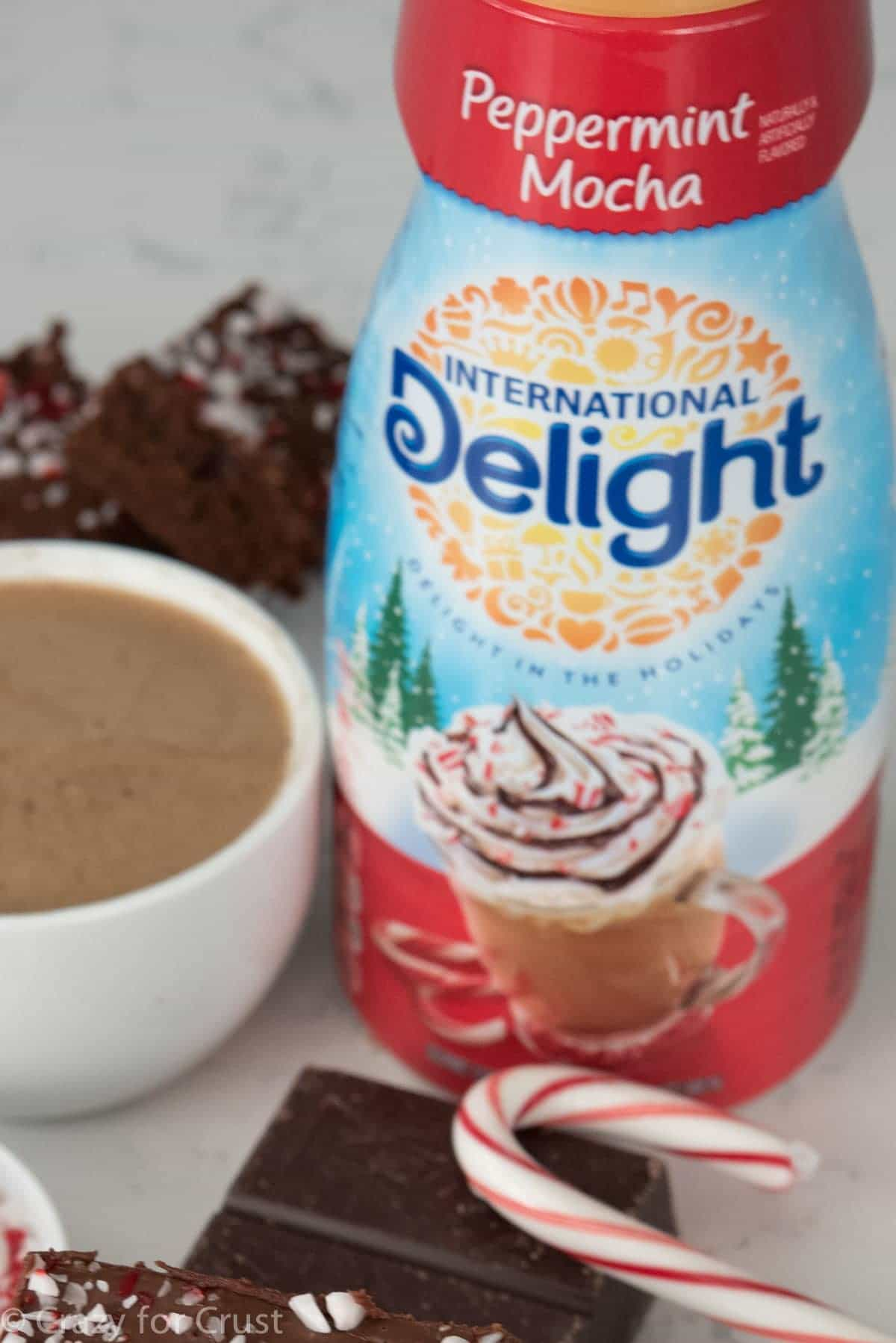 Peppermint Mocha Intertnational Delight