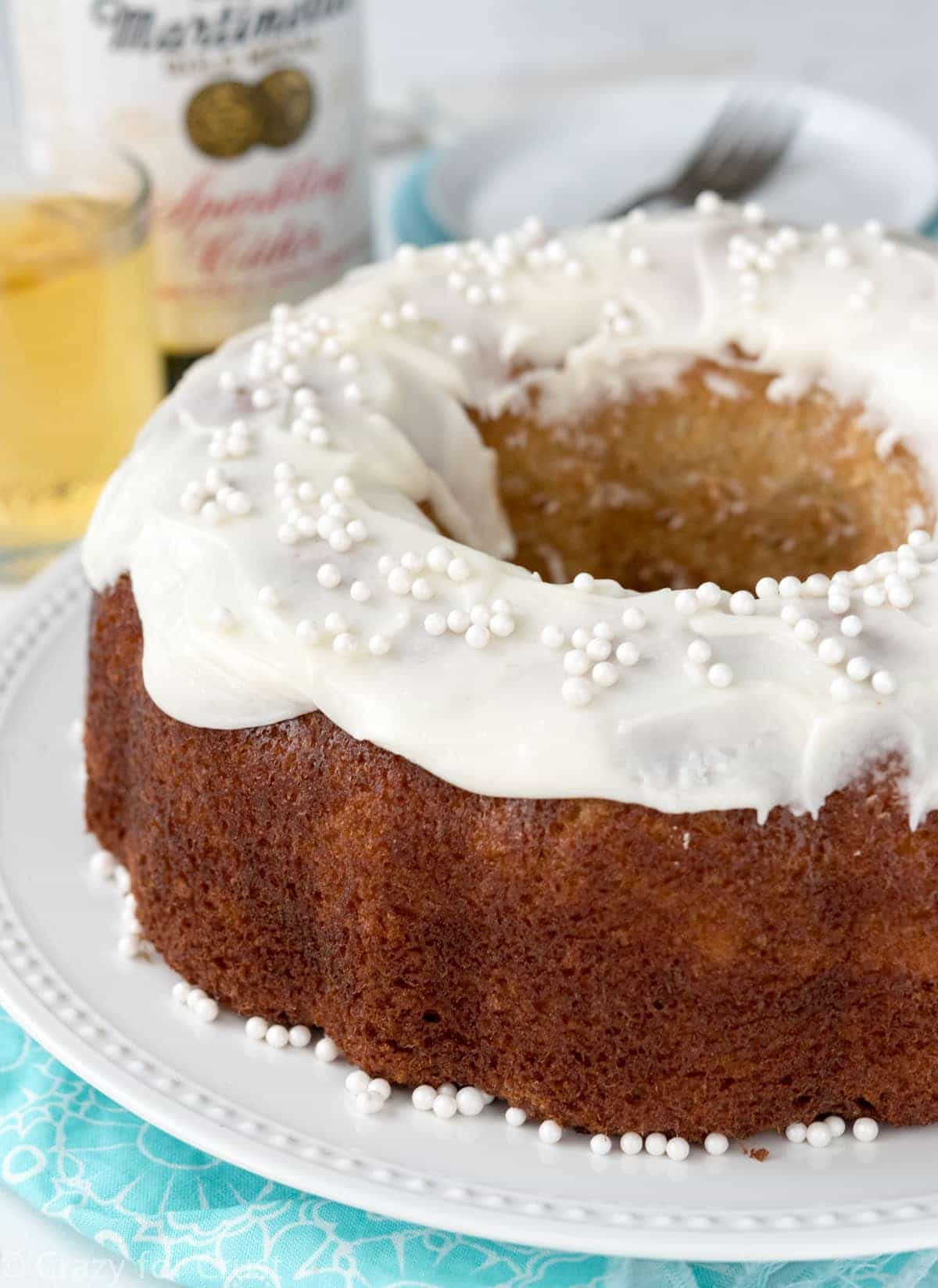 Sparkling Apple Cider Cake Recipe