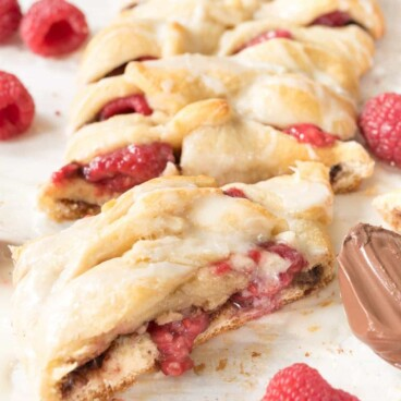 This Easy Raspberry Nutella Danish comes together simply for a tasty pastry.
