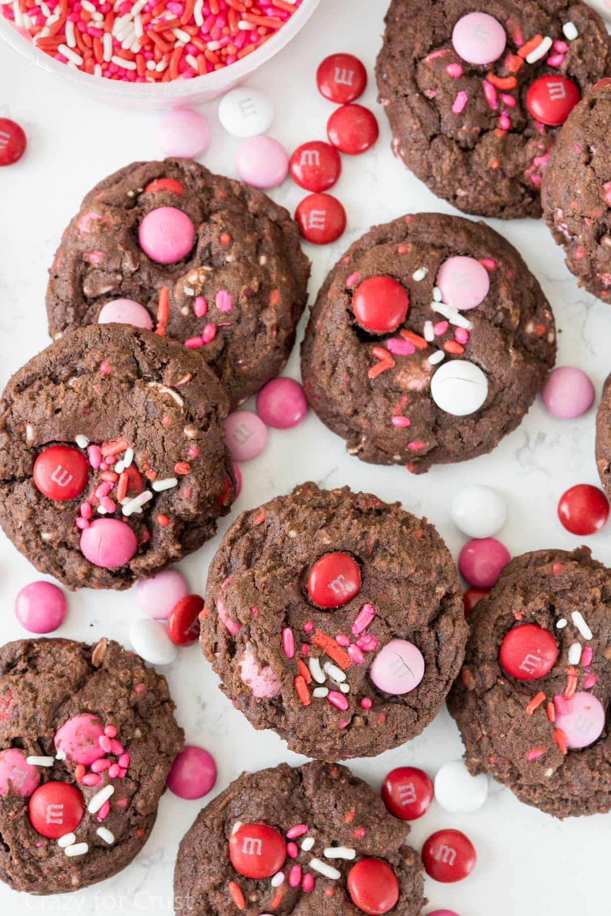 Easy Very Valentine Pudding Cookies Recipe