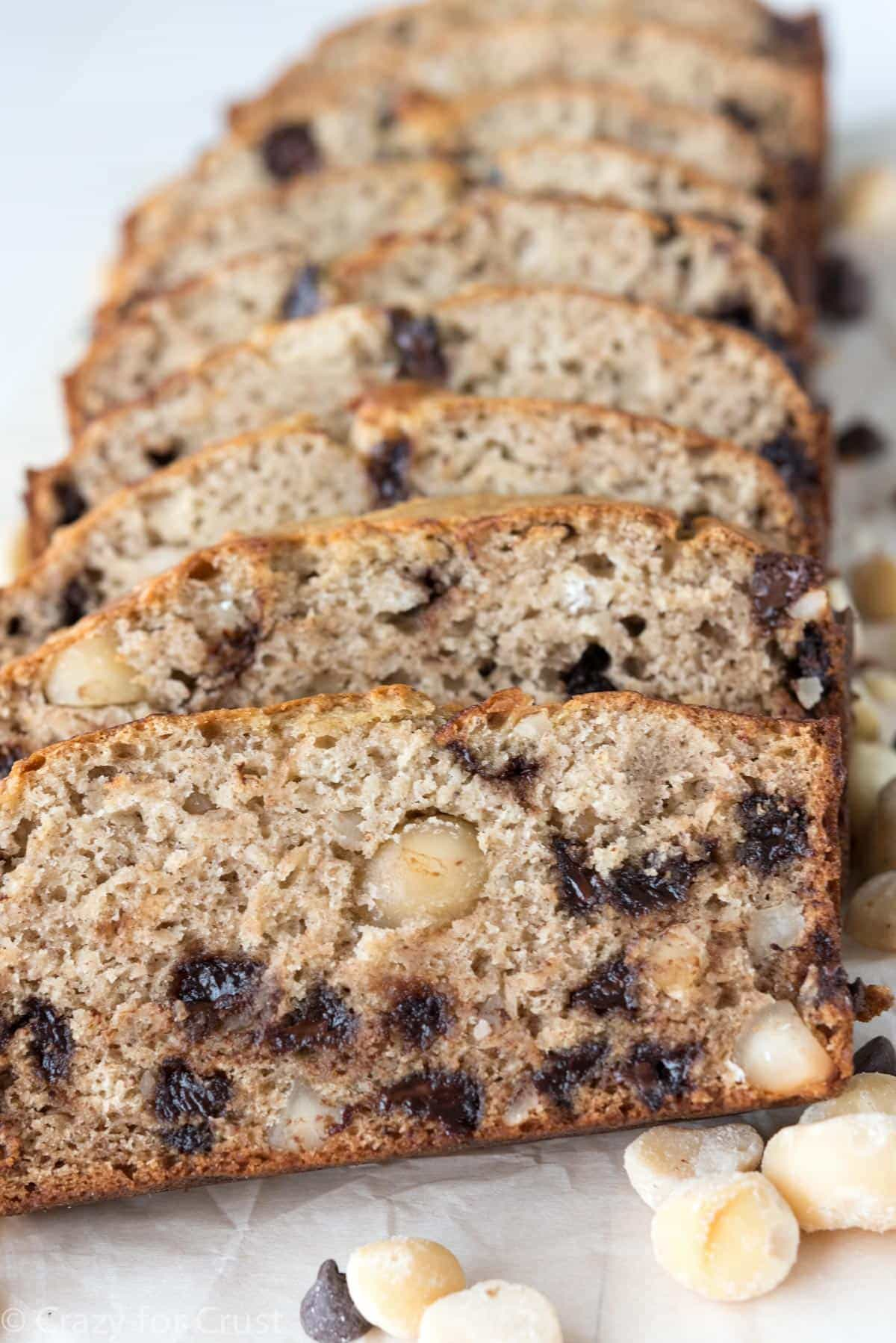 Macadamia Nut Banana Bread aka Jungle Cake! The best banana bread!!