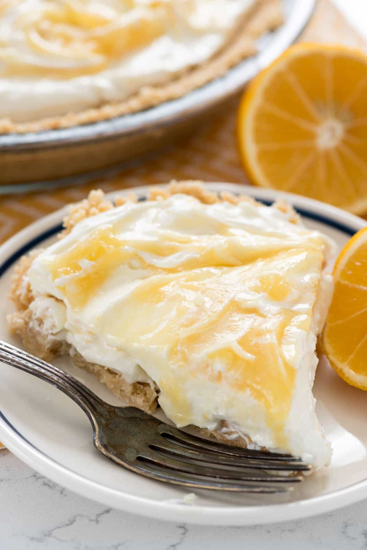 No Bake Lemon Cheesecake (10 of 11)