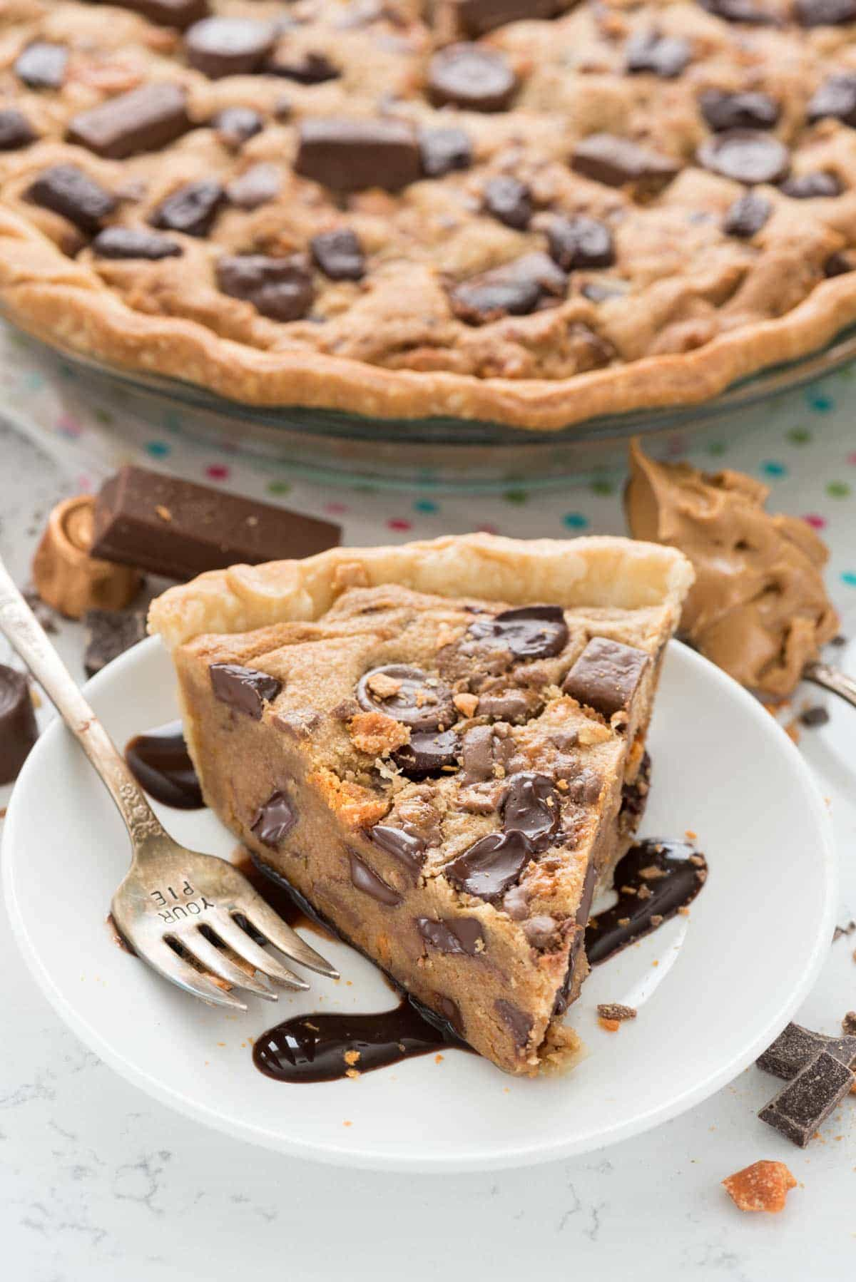 Peanut Butter Candy Bar Pie Recipe