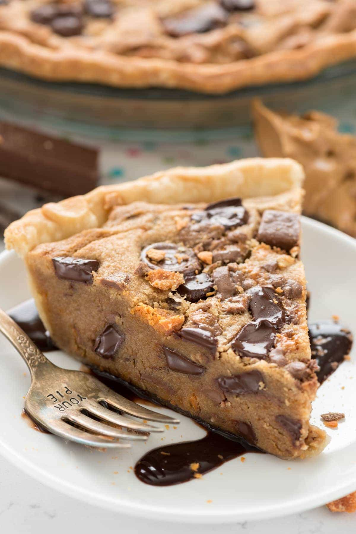 Peanut Butter Candy Bar Pie (4 of 5)