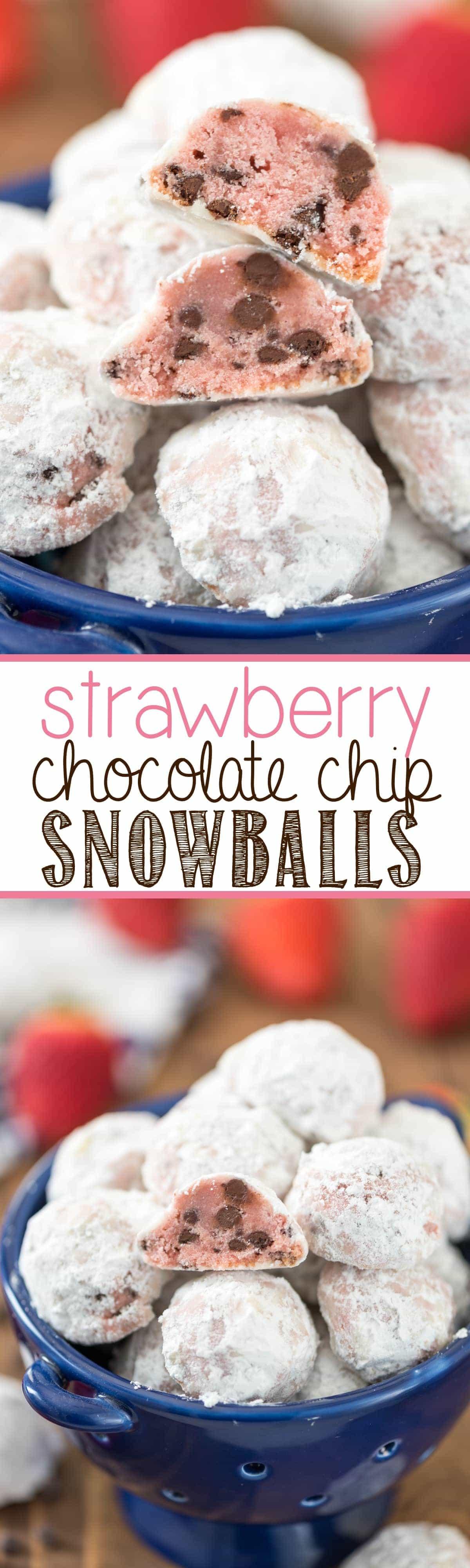 Strawberry snowball cake recipe
