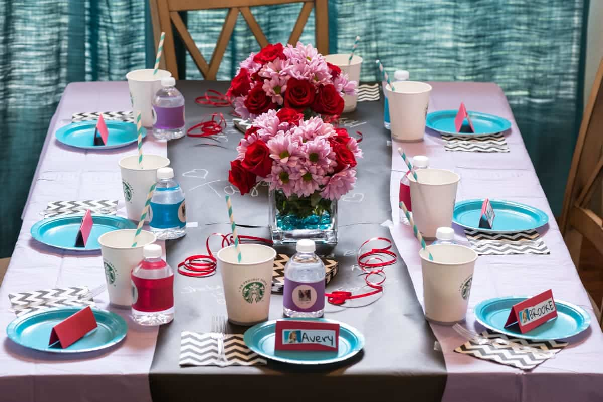 Taylor Swift Birthday Party table decor