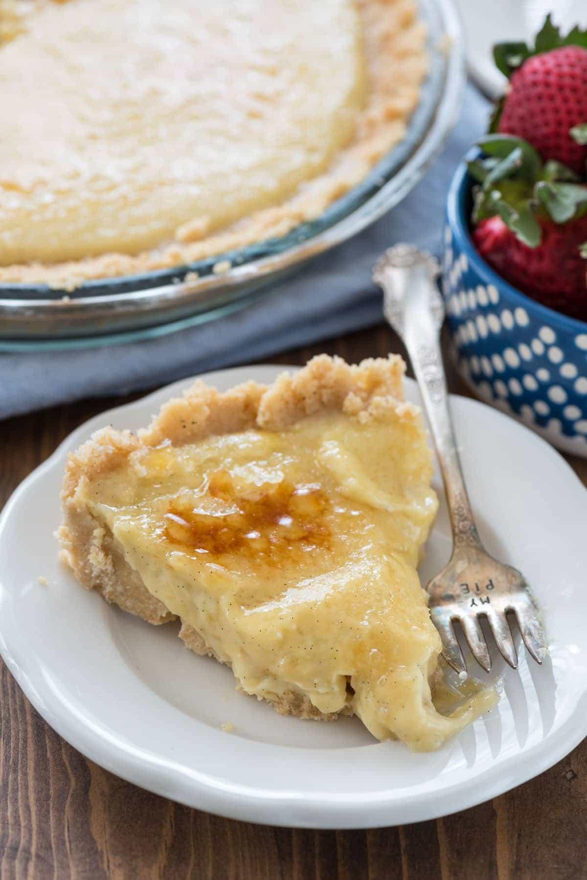 No Bake Creme Brulee Pie Recipe