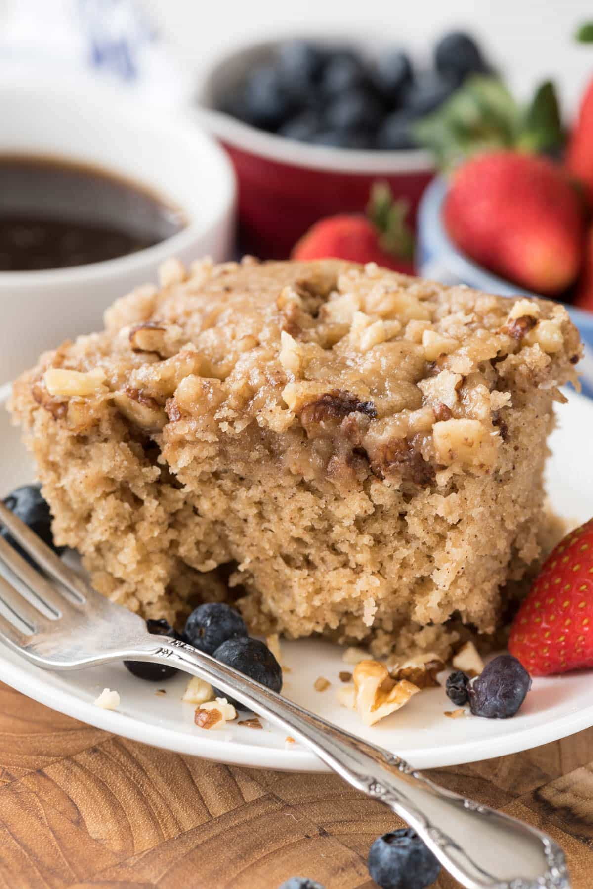 Slow Cooker Coffee Cake Crazy For Crust