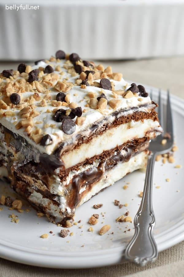 Cereal Bar Ice Cream Cake