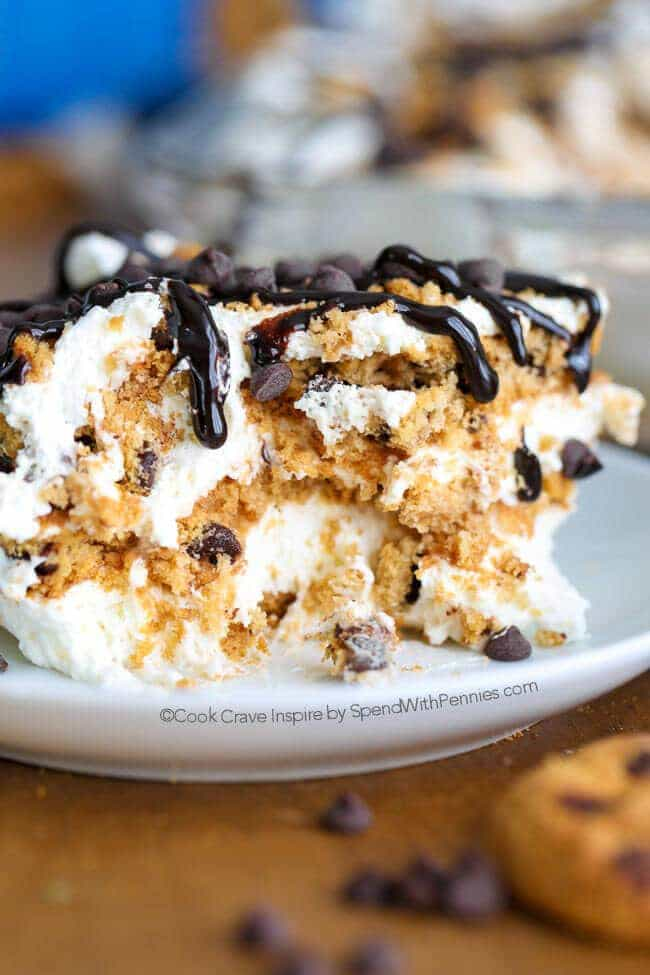 No Bake Chips Ahoy Icebox Cake