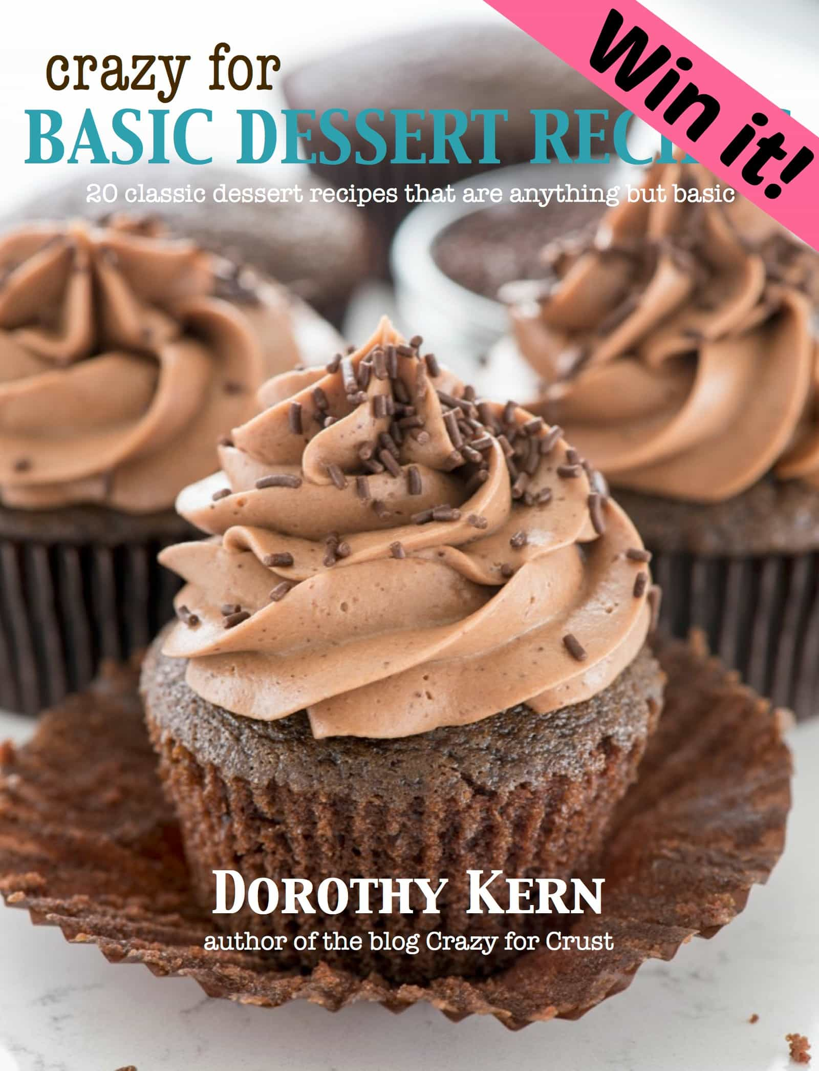Crazy for Basic Dessert Recipes + Amazon Giveaway