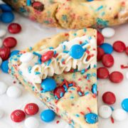 Fireworks Sugar Cookie Cake